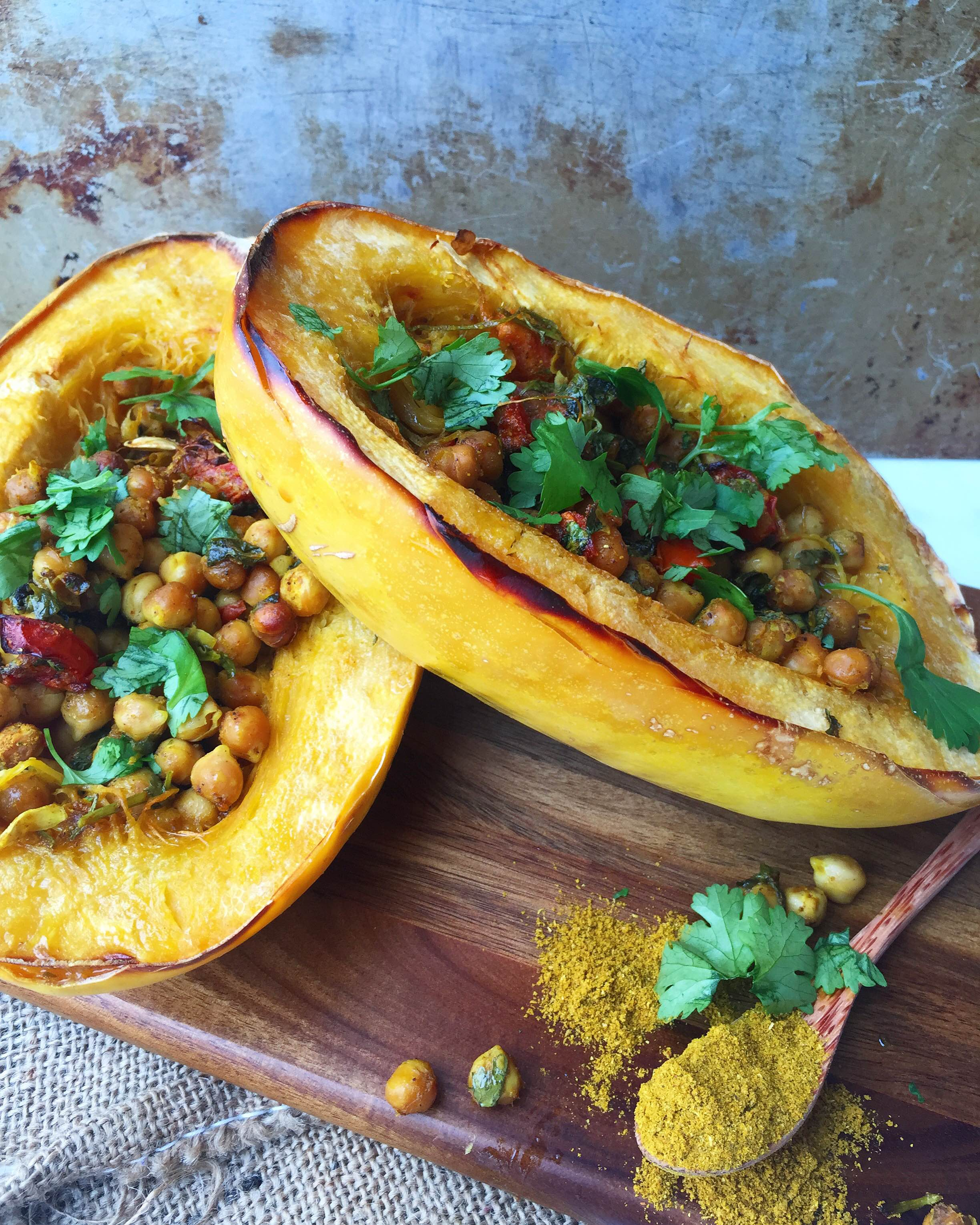 Curried Chic Peas