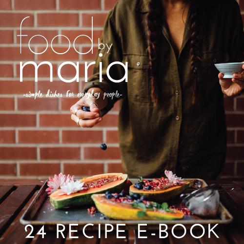 FoodByMaria E-book