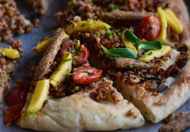 The best Sweet Mango Chilli Lime Pizza
