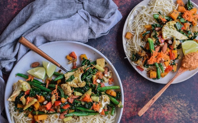 Quick + Easy Vegetable Stir-Fry (35 minutes)