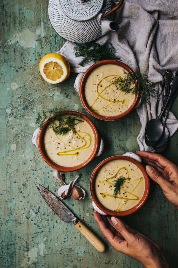 I promise you'll love this super simple and delicious plant-based cauliflower soup. It's perfect for the colder winter weather!