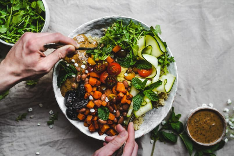 Three super easy plant-based meal planning ideas that are healthy and delicous. I incorporated California Prunes in each recipe for extra nutrients.