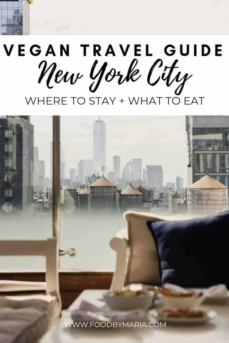 New York baby, the vegan mecca of food! I recently did some travelling to New York, here's where I stayed, played, and ate!