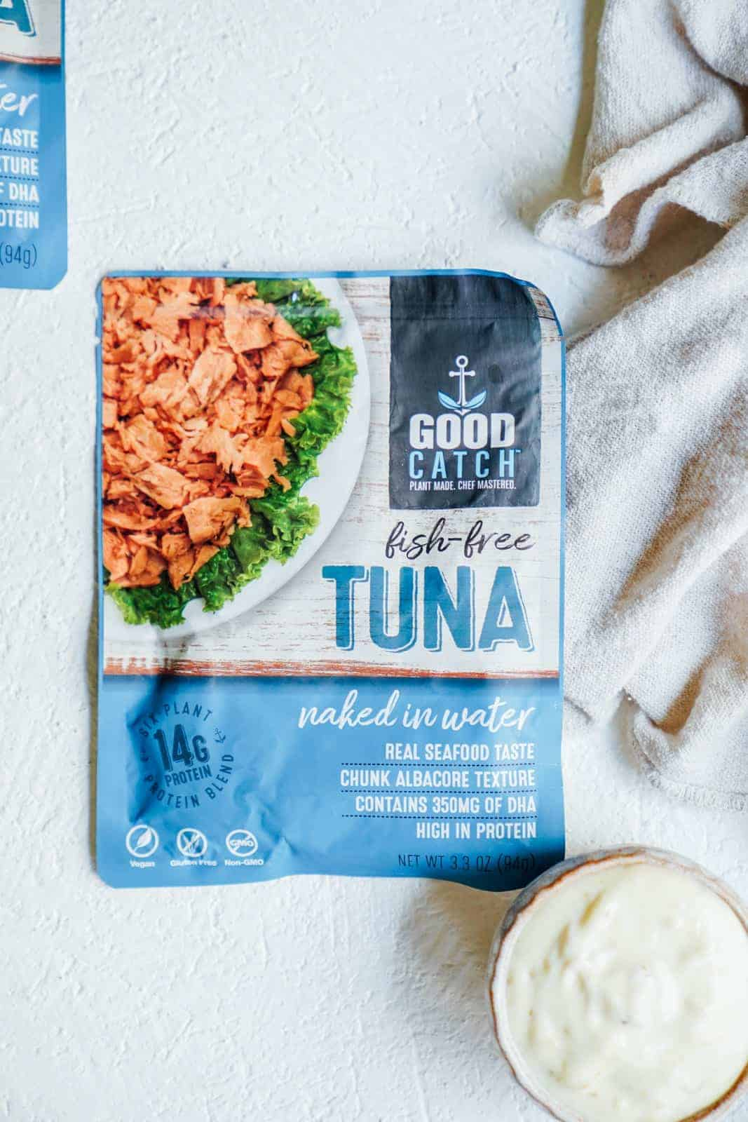 This quick and easy tuna salad recipe is vegan friendly and will not only save you time, but also save the ocean. Perfect for a hot summer day or meal prep!