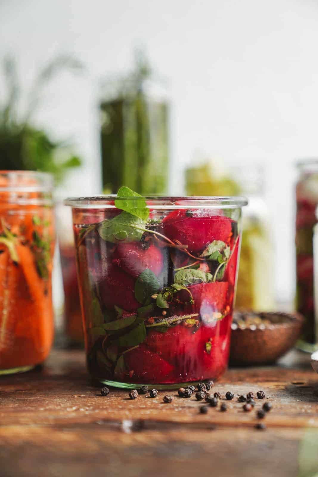 How to pickle vegetables easily.