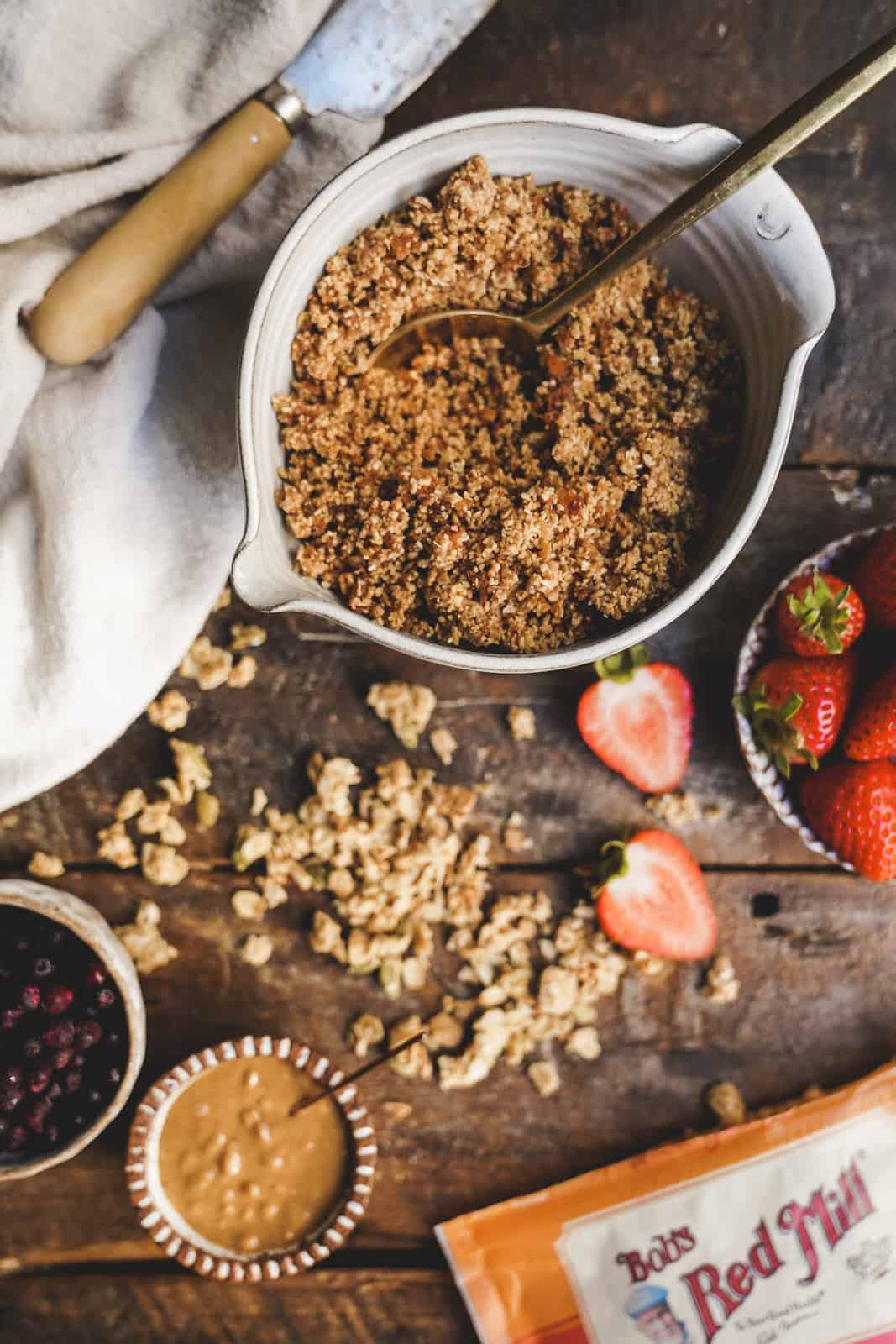 Granola bowl with Bob's Red Mill