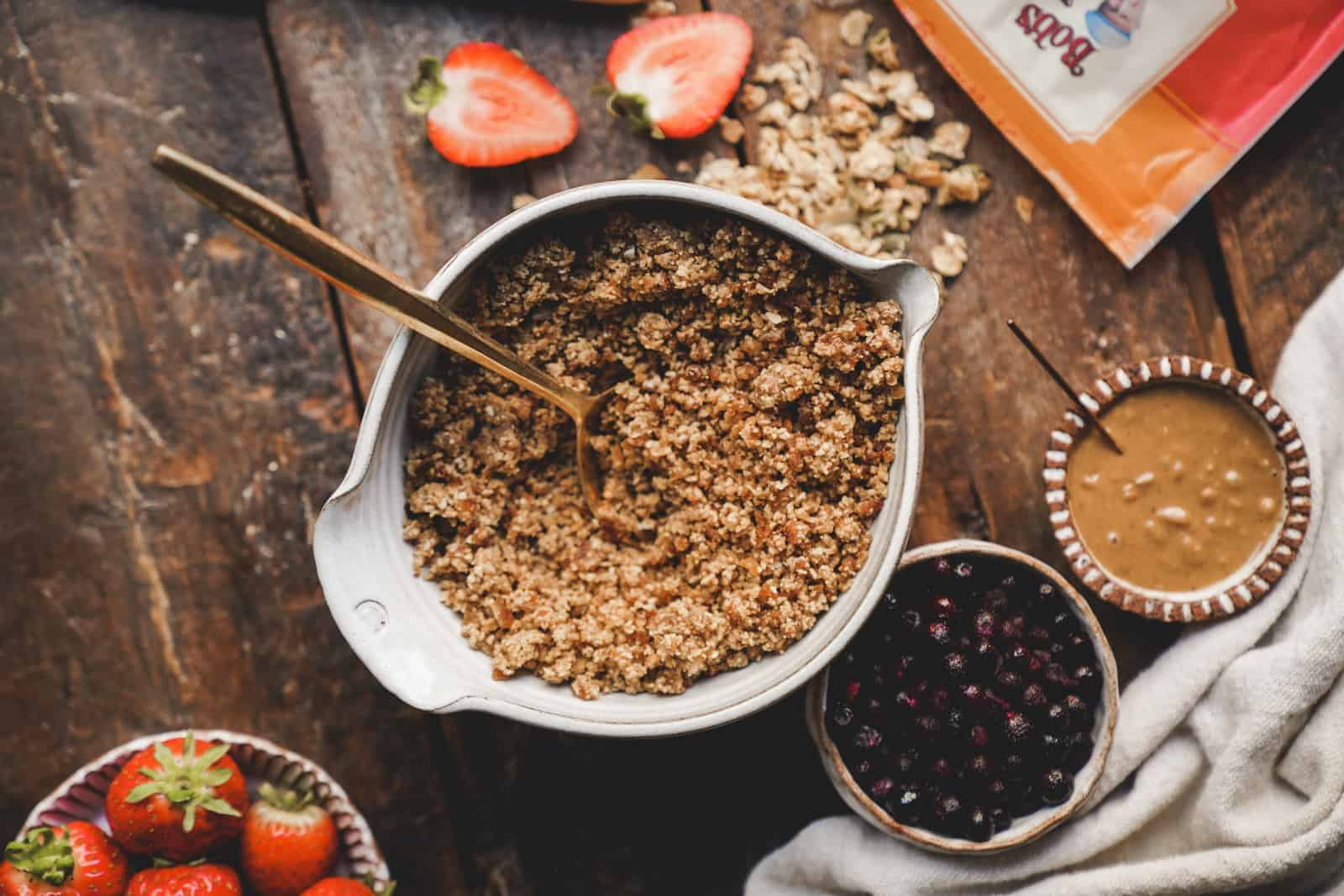 Granola bowl recipe