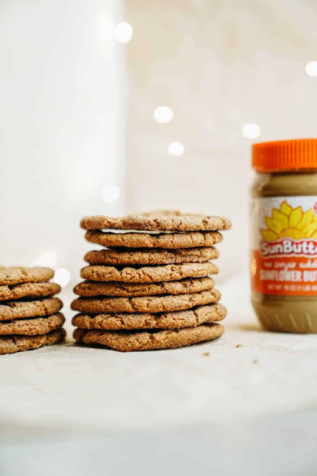 Sunbutter Cookies