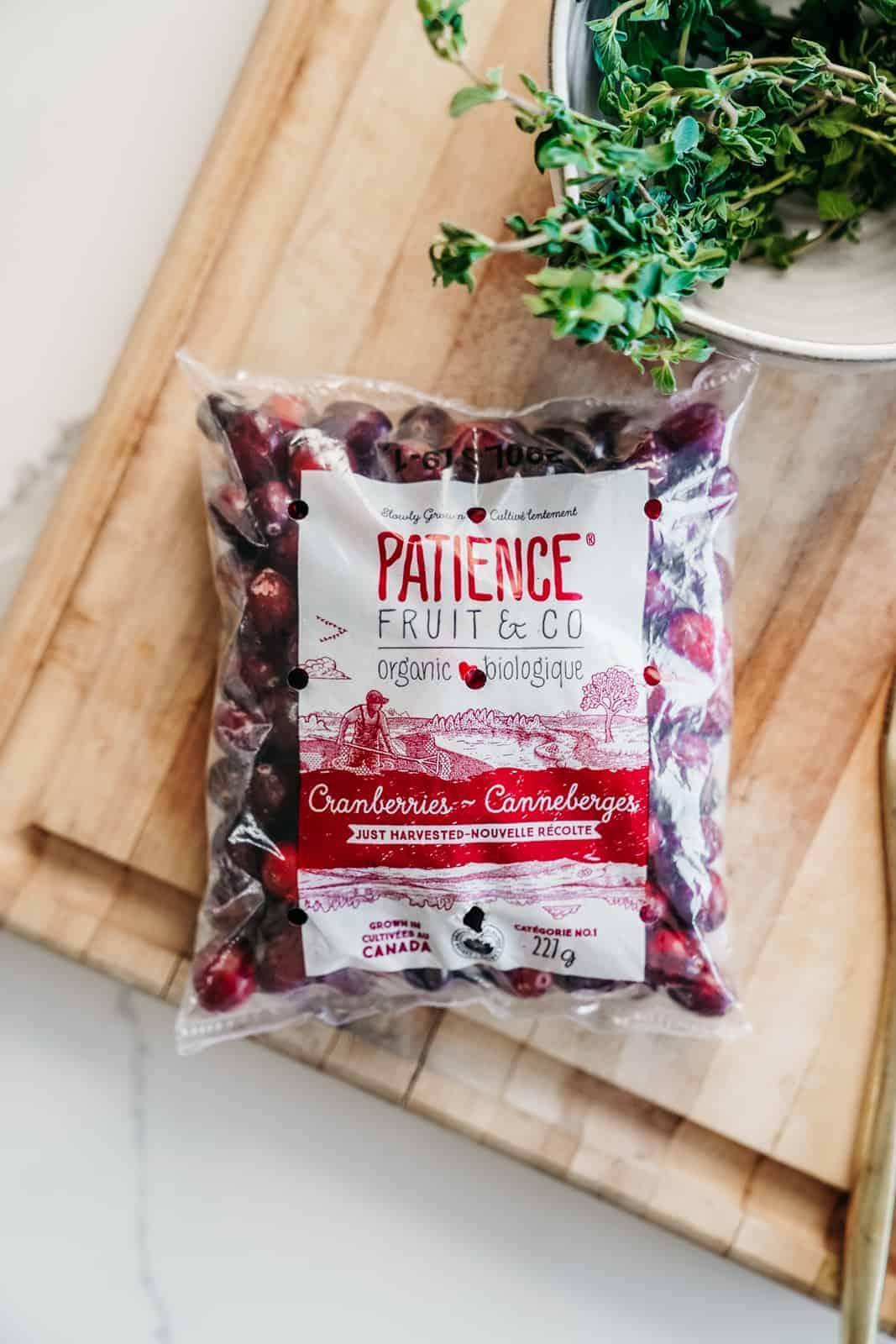 Patience Fruit & Co. Cranberries