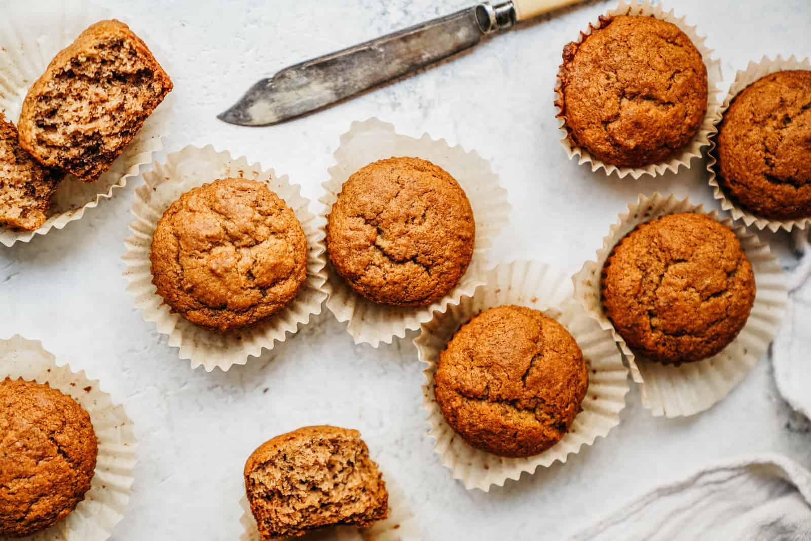 Vegan Banana Muffins Foodbymaria