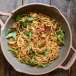 one-pot vegetarian pasta